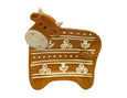 Highland Cow Woolly Ware Teabag Holder