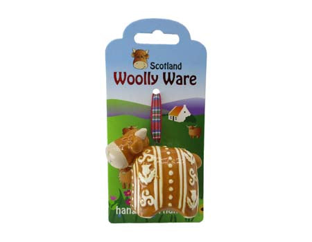 Highland Cow Woolly Ware Calf Hanging Ornament
