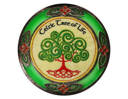 Celtic Tree of Life Celtic Threads Wall Plaque