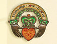 Claddagh Ring Plaque
