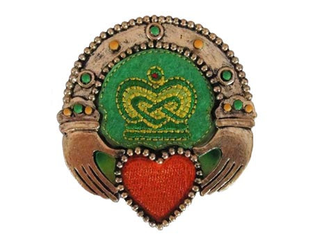 Celtic Threads Claddagh Ring Magnet