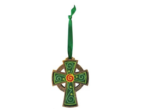 Celtic Cross Hanging Ornament