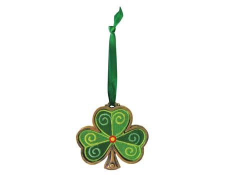 Shamrock Hanging Ornament