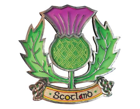 Scottish Thistle Plaque