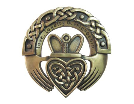 Claddagh Ring Plaque profile