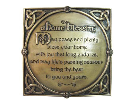 Home Blessing Wall Plaque