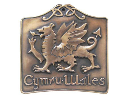 Welsh Dragon Plaque