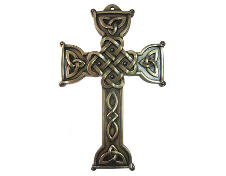 Celtic Love Cross Wall Plaque