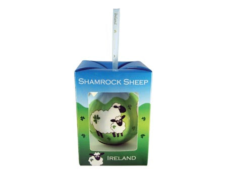 Shamrock Sheep Bauble