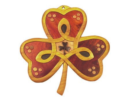 The Irish Shamrock Wall Hanging