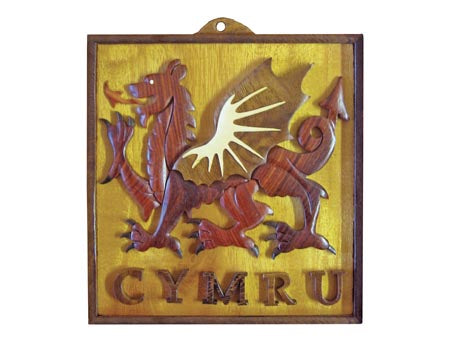 Welsh Dragon Wall Hanging