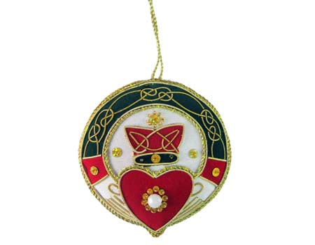Claddagh Hanging Ornament
