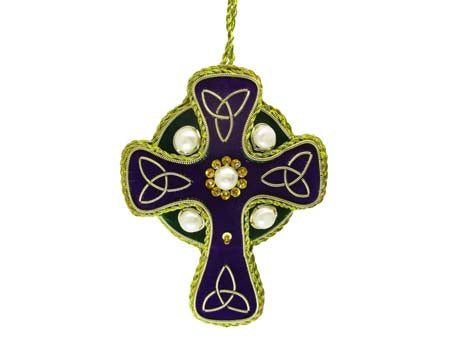 Scottish High Cross Needlework Decoration