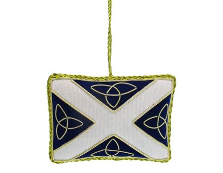 Saltire Needlework Decoration