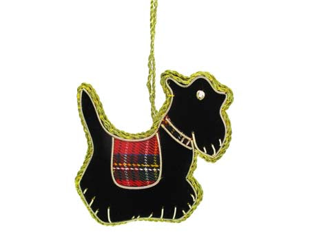 Scottie Needlework Decoration