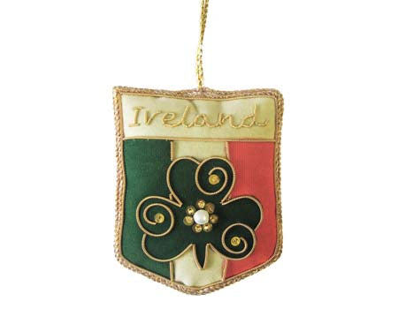 Irish Tricolour Crest