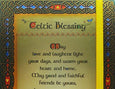 Celtic Blessing Notebook