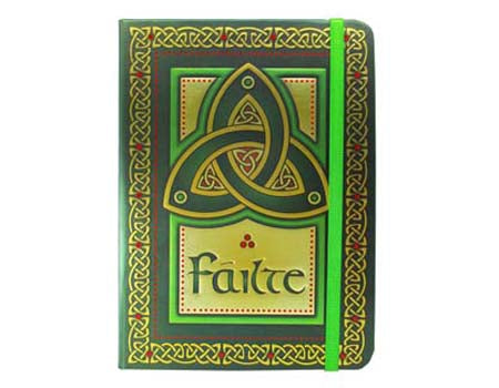 Trinity Knot Failte Notebook