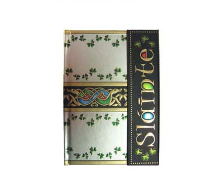 Celtic Notes Slainte Notebook
