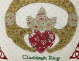 "Claddagh Ring 10"" Cushion"