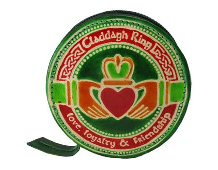 Claddagh Round Purse
