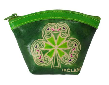 Shamrock Fan Purse