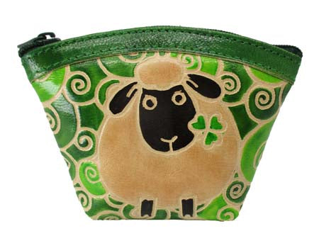 Sheep Fan Purse