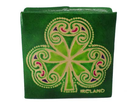 Shamrock Square Purse