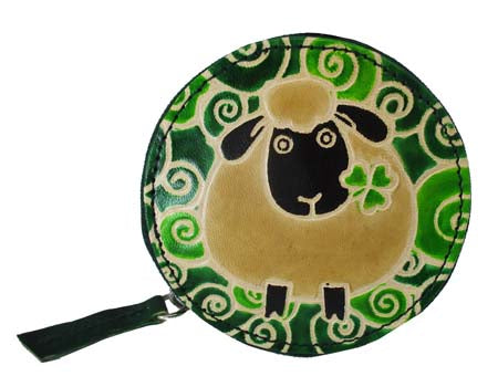Sheep Round Purse