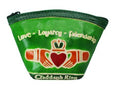 Claddagh Leather Fan Purse