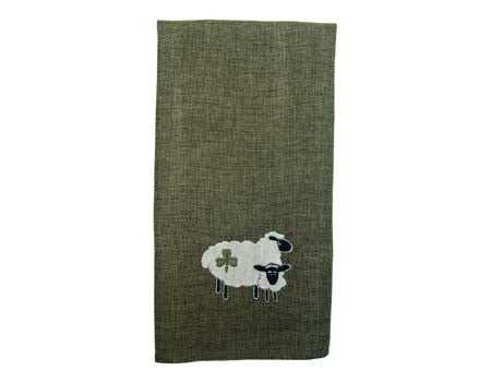 Shamrock Sheep Tea Towel