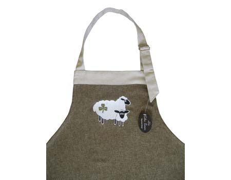 Shamrock Sheep Apron