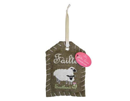 Scottish Sheep Failte Fragrant Ornament