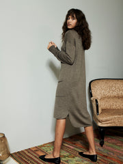 KIRSTY DRESS TAUPE