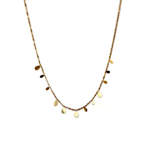 Multi Teardrops Necklace
