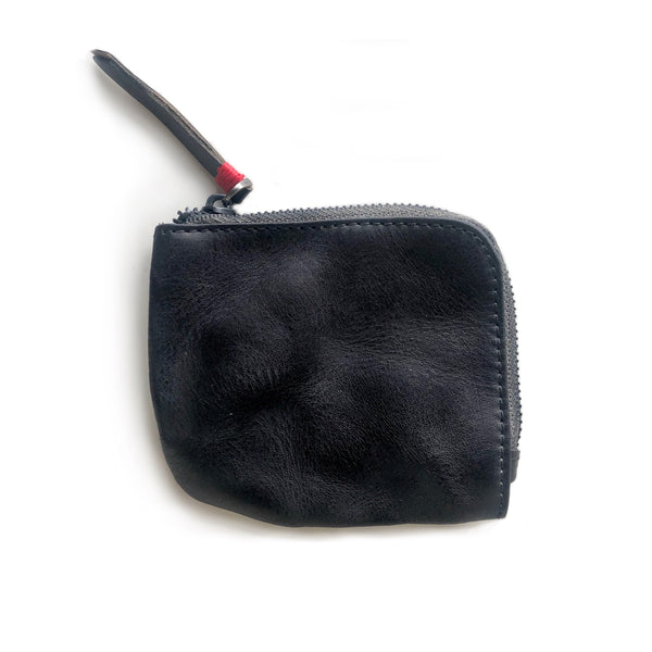 Leather Coin Pouch | Black