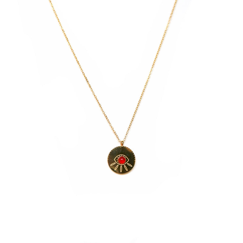Red Eye Necklace