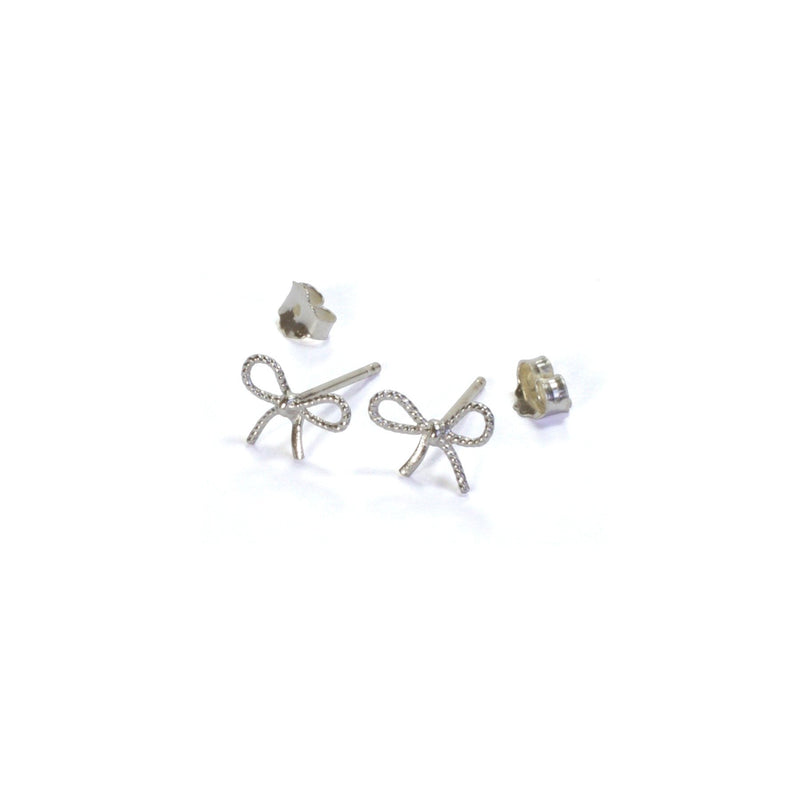 Bubble Bow Studs