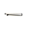 Men's Large Tie Clip - silver