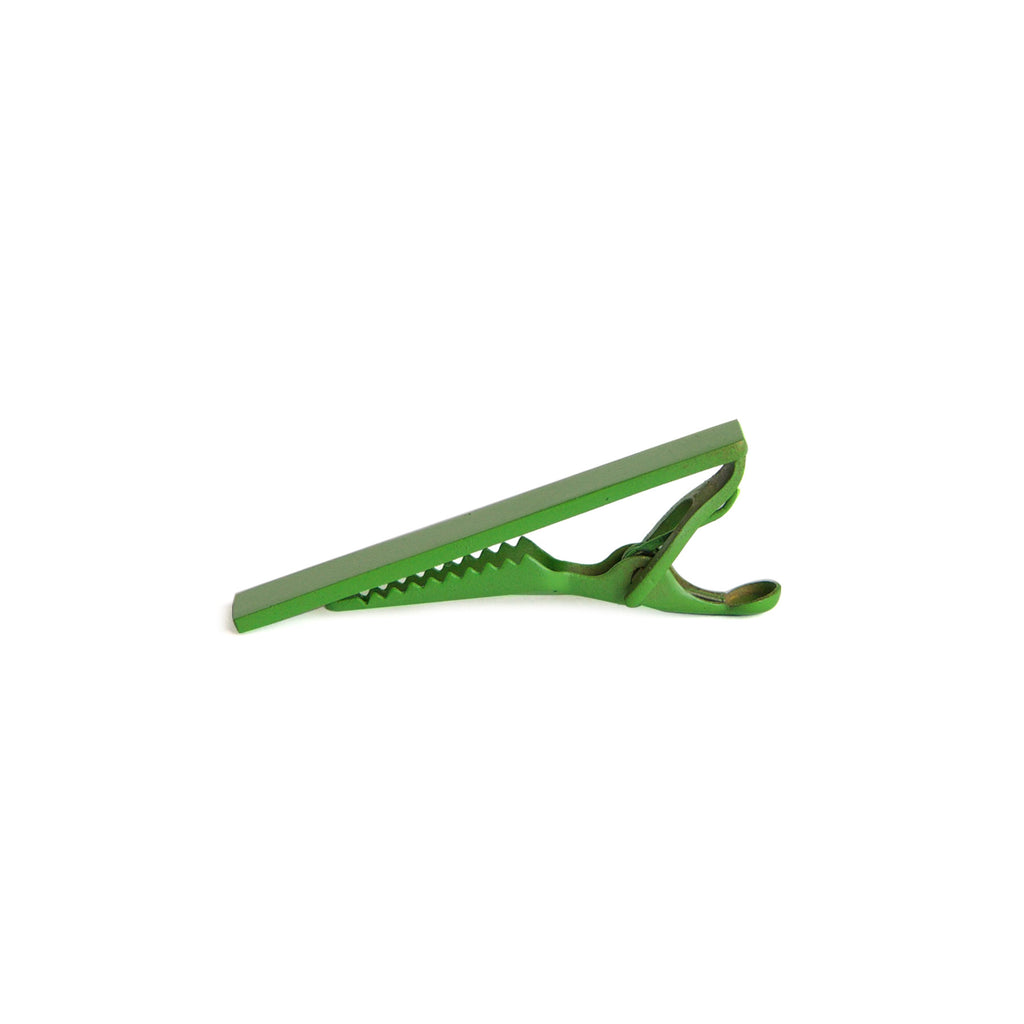 Men's Color Tie Clip - green