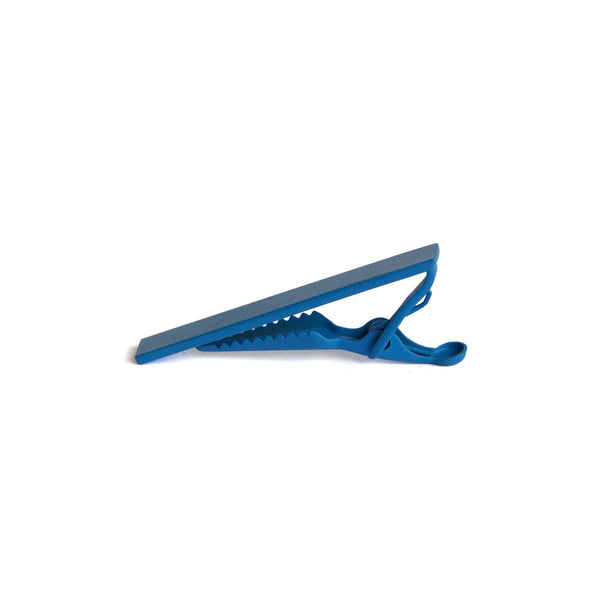 Men's Color Tie Clip - blue