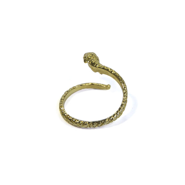 Snake Ring at an alternate angle