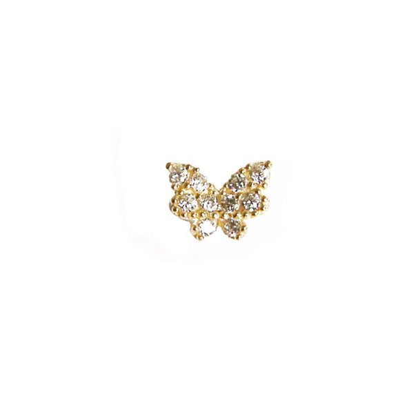 Butterfly Stud | 14K Gold