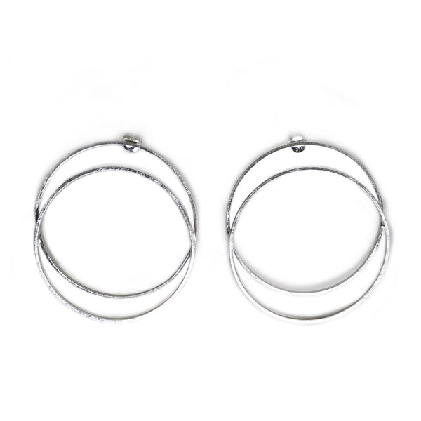LG Double Circle Earrings