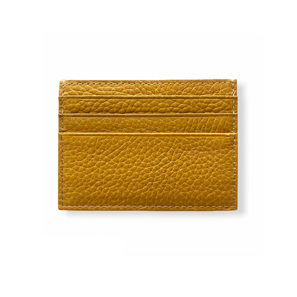 Classic Card Wallet | Mustard
