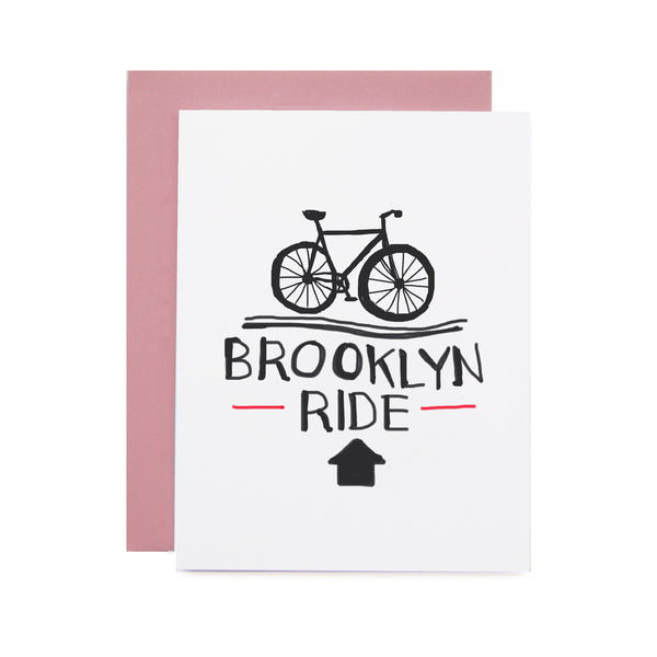 Brooklyn Ride Card