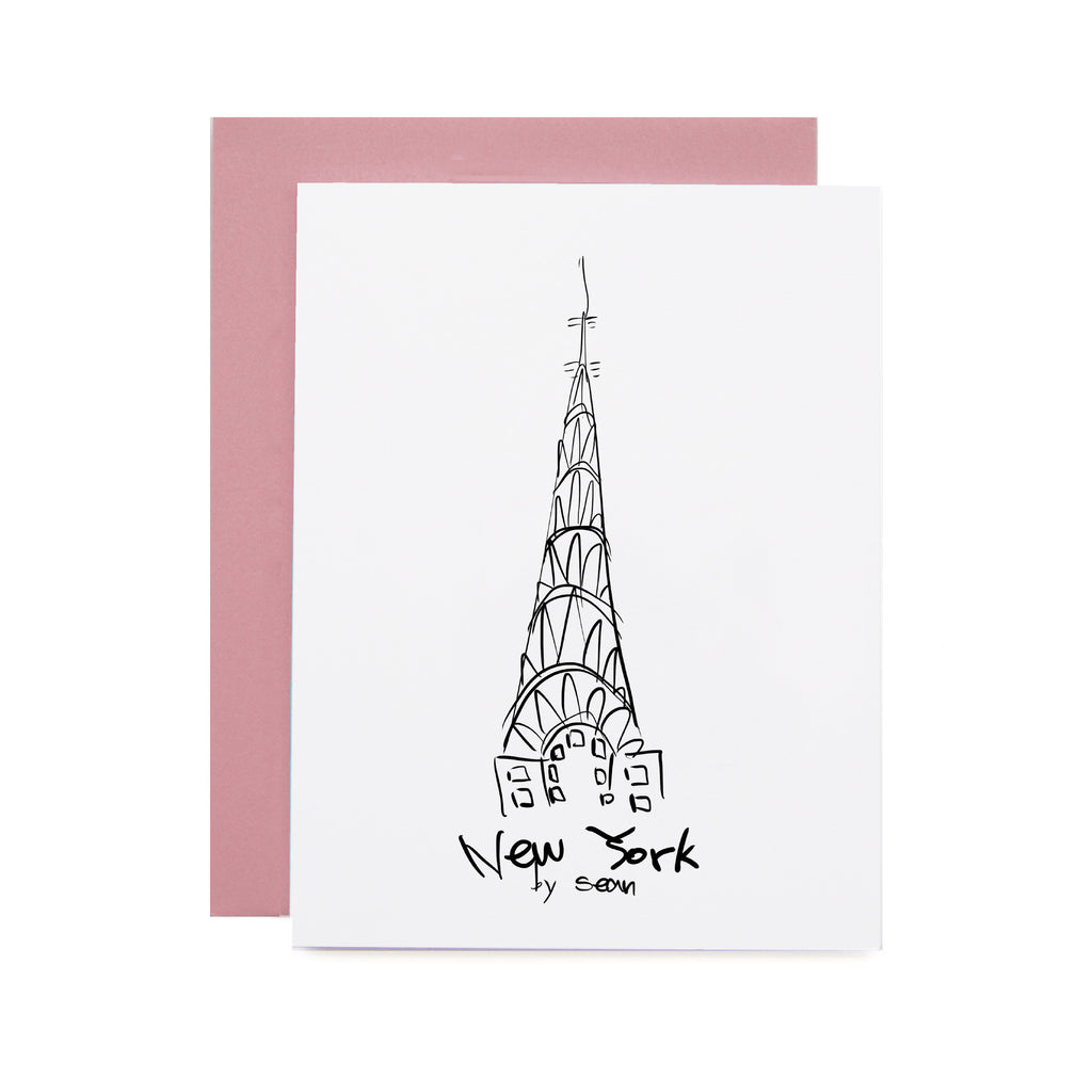 Chrysler Building Illustration