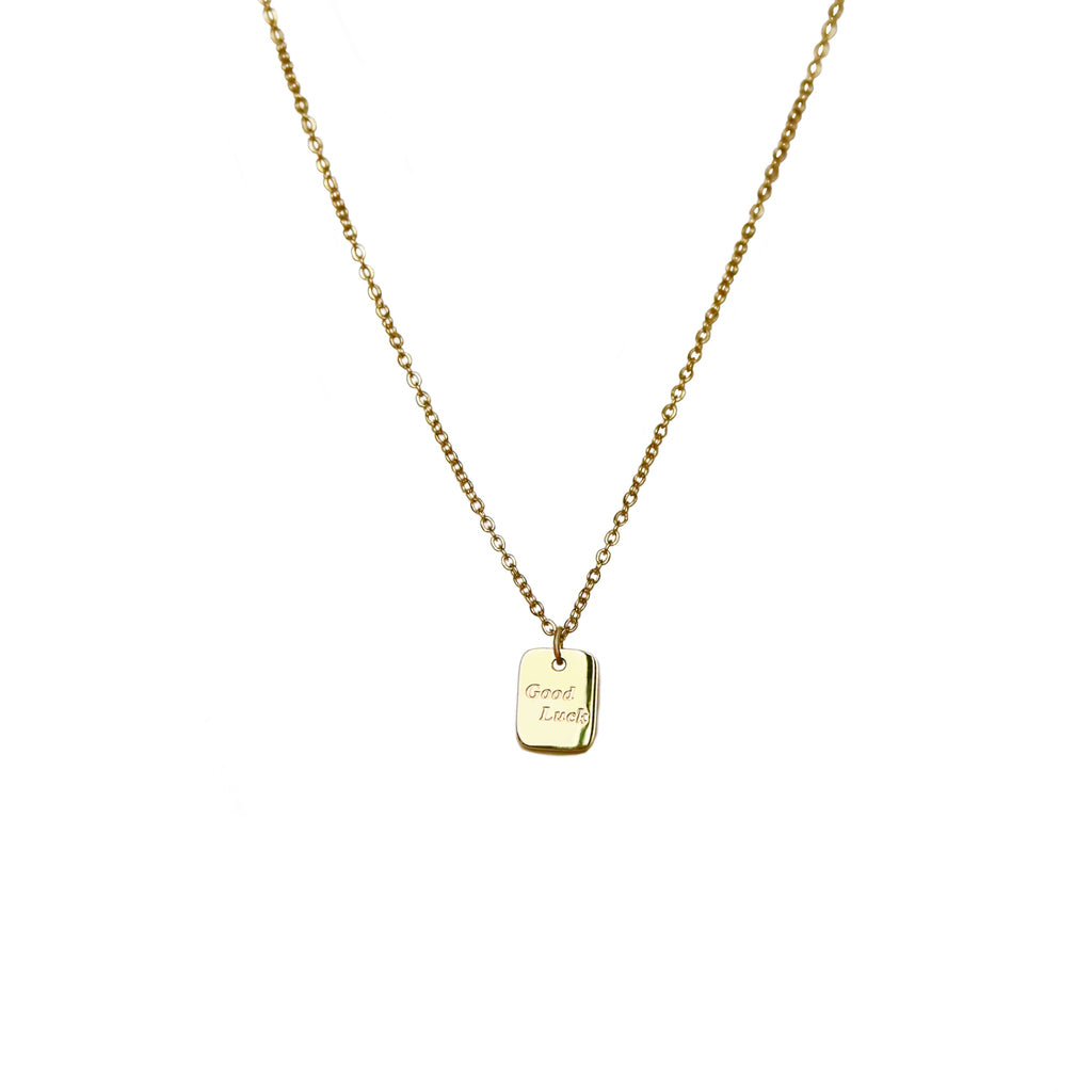 Good Luck Charm Necklace | Gold