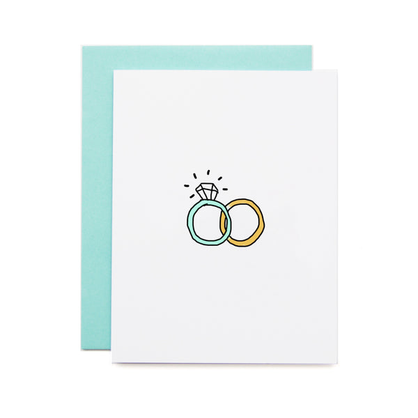 Wedding Ring Card