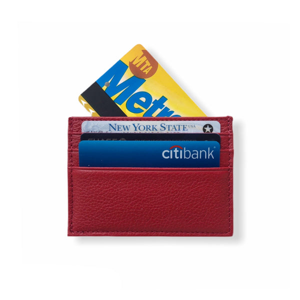 Classic Card Wallet | Red